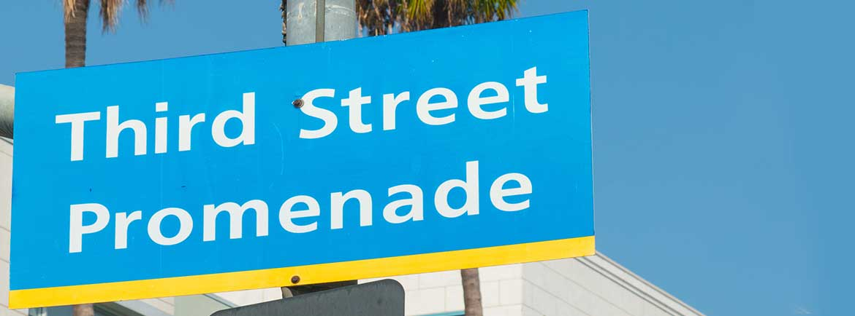 The Third Street Promenade, California
