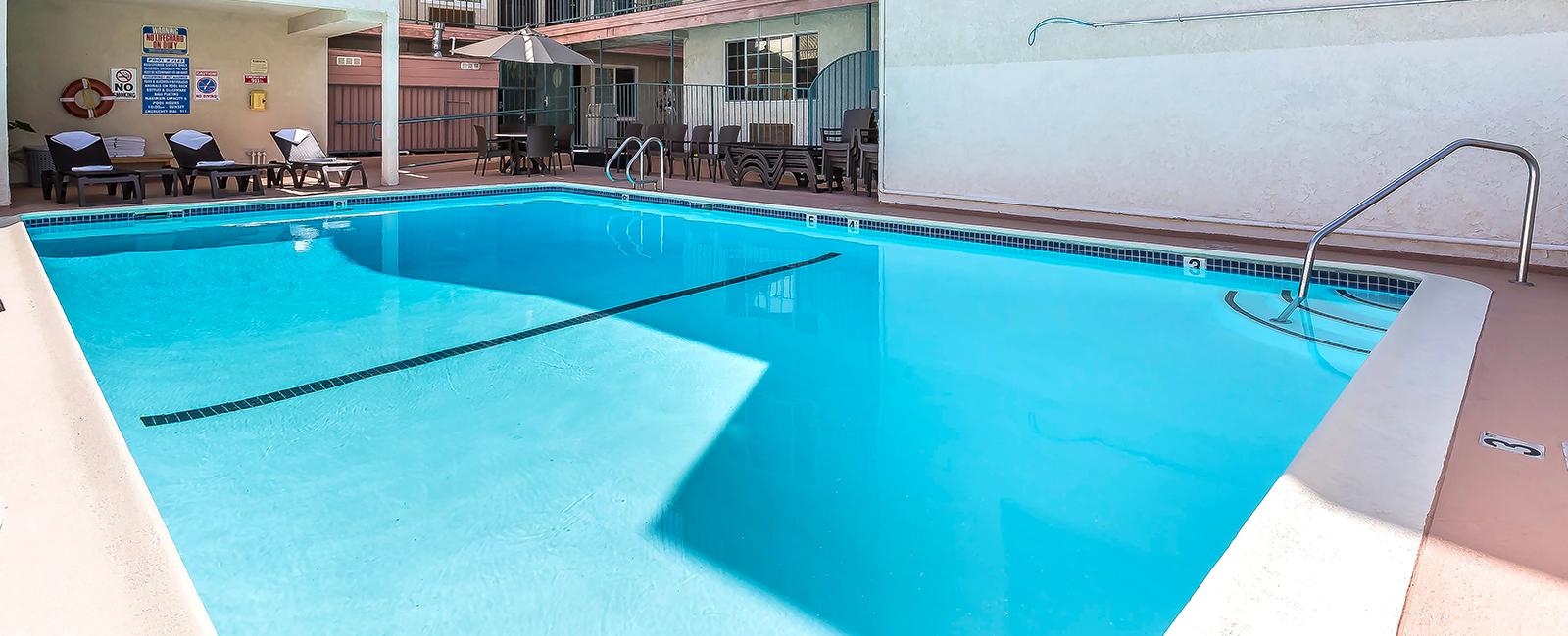 Santa Monica Hotel With Pool Comfort Inn Santa Monica