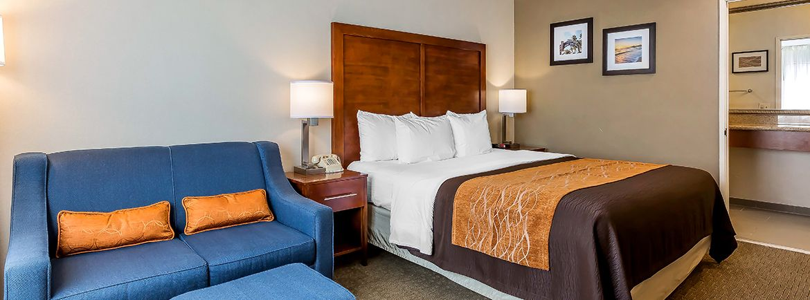 Comfort Inn Santa Monica -West Los Angeles offering King Suite + 1 NK1